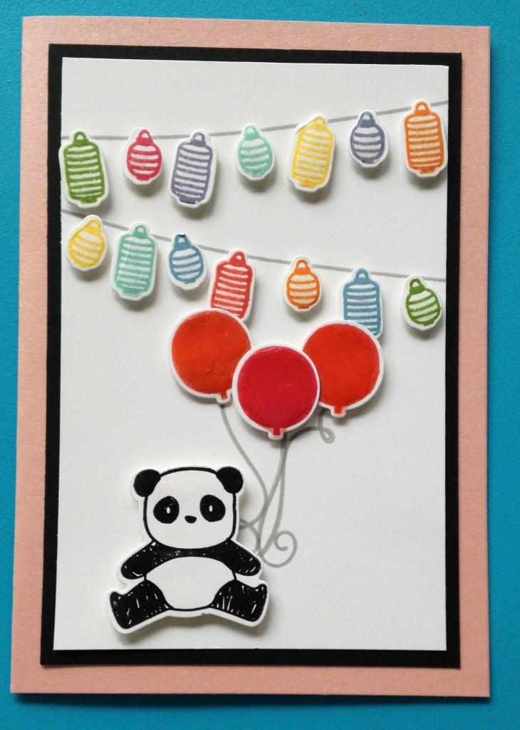 Panda feestje 1