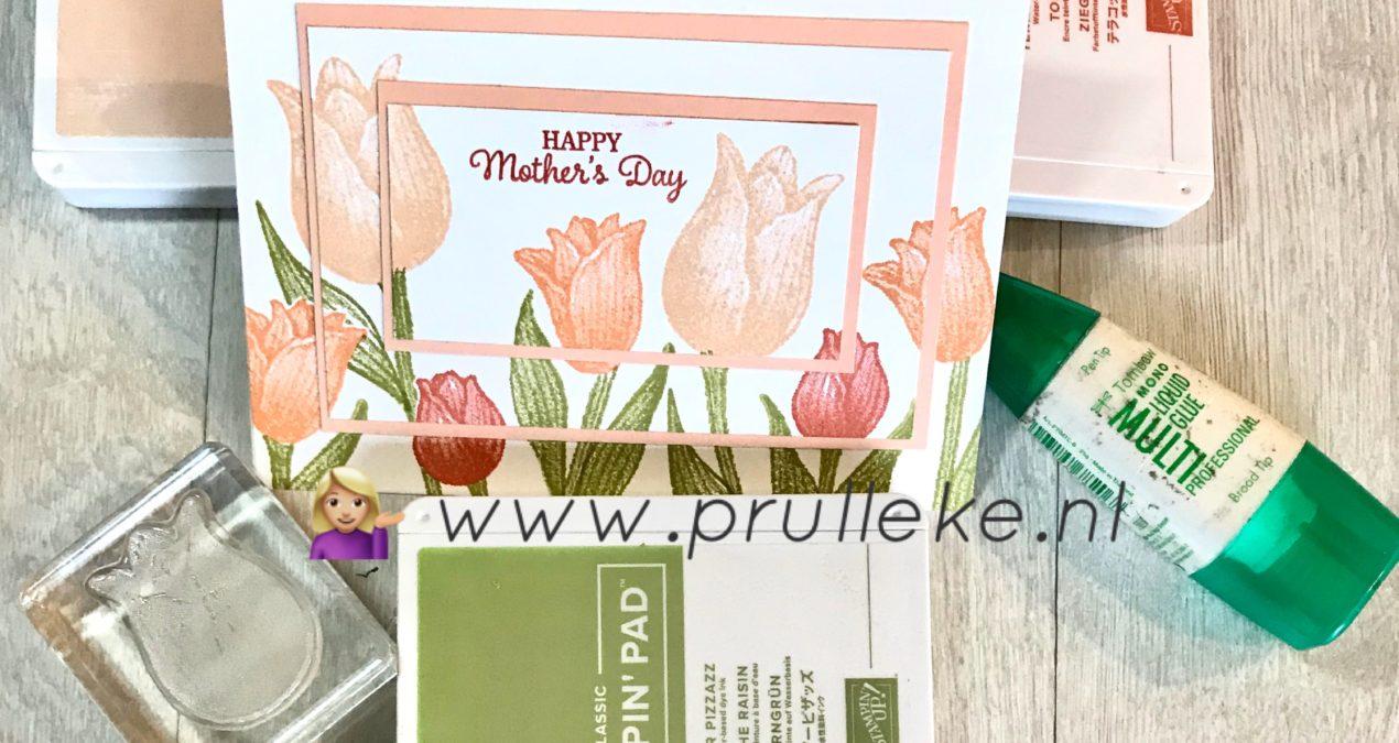 Timeless Tulips (half-)gevorderde kaart