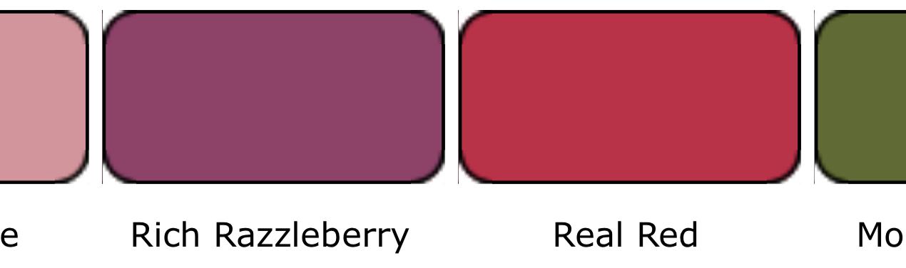 Kleurencombinatie februari 2021