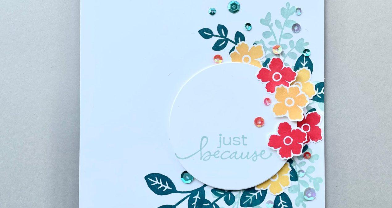 Kleurencombinatie maart inspiratiekaart week 13