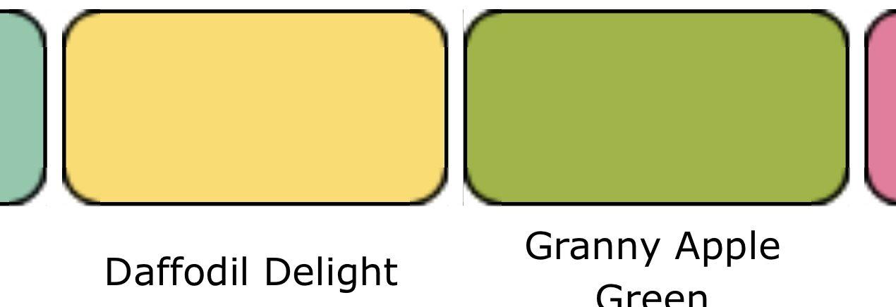 Kleurencombinatie juli 2021