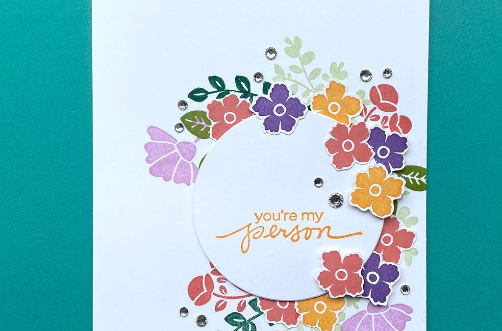 Fleurige Lovely You kaarten