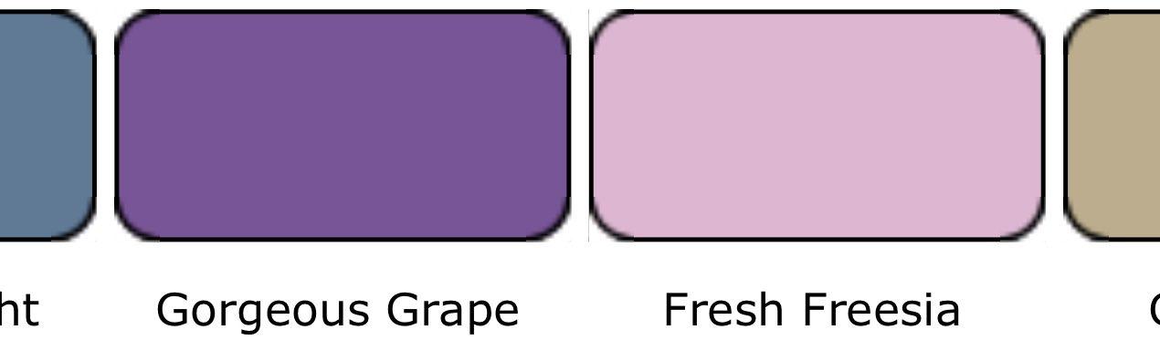 Kleurencombinatie augustus 2021
