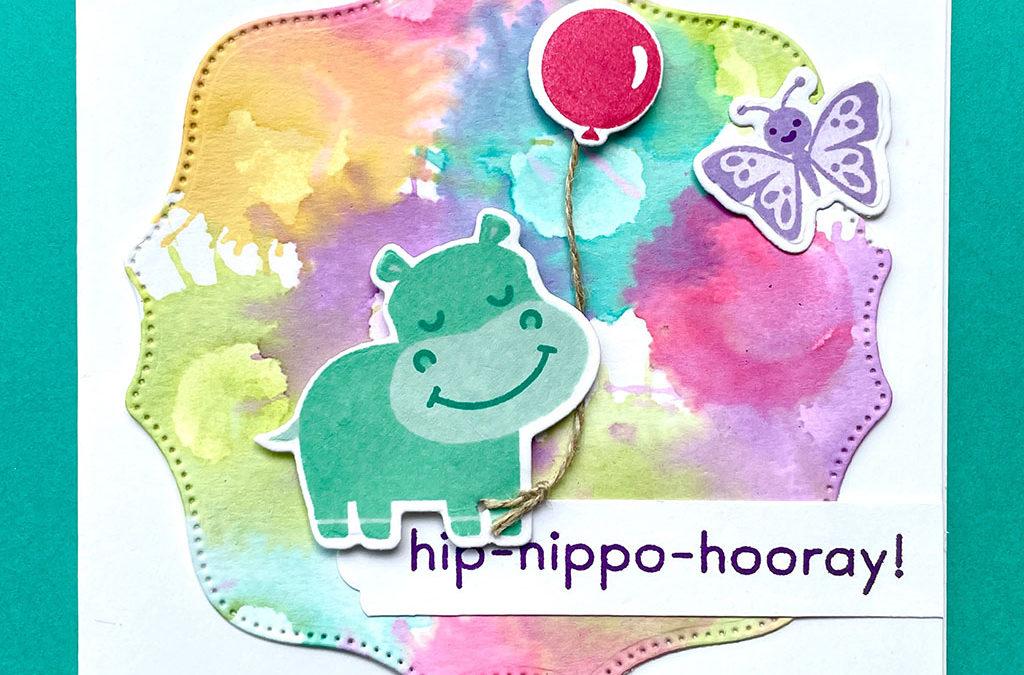 Kliederachtergrondjes met Hippo Happiness